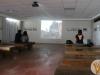 En la sala audiovisual