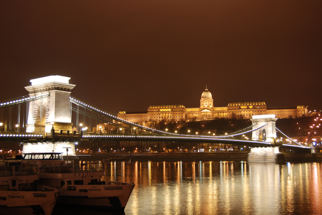 Castillo de Buda en Budapest, Hungría