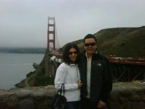 Diana y José en San Francisco