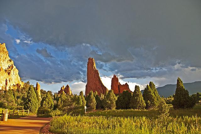 Foto de Jardín de los Dioses en Colorado