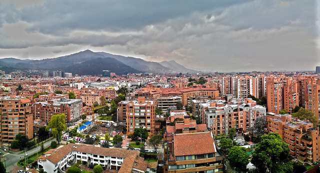 Vista de Bogotá por Andres