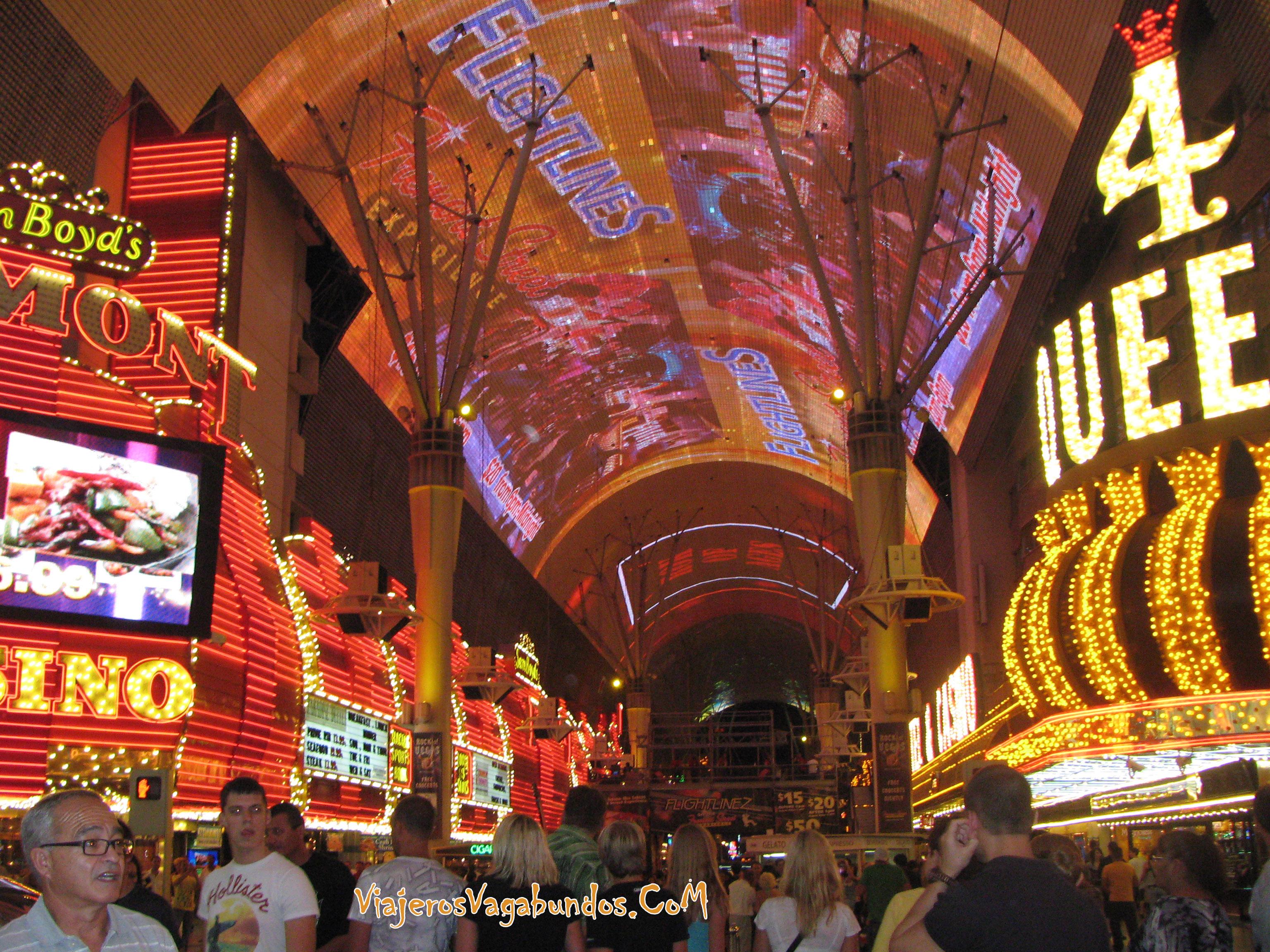 Fremont Experience en Las Vegas