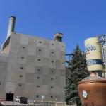Fachada de la Cervecería Coors en Golden Colorado