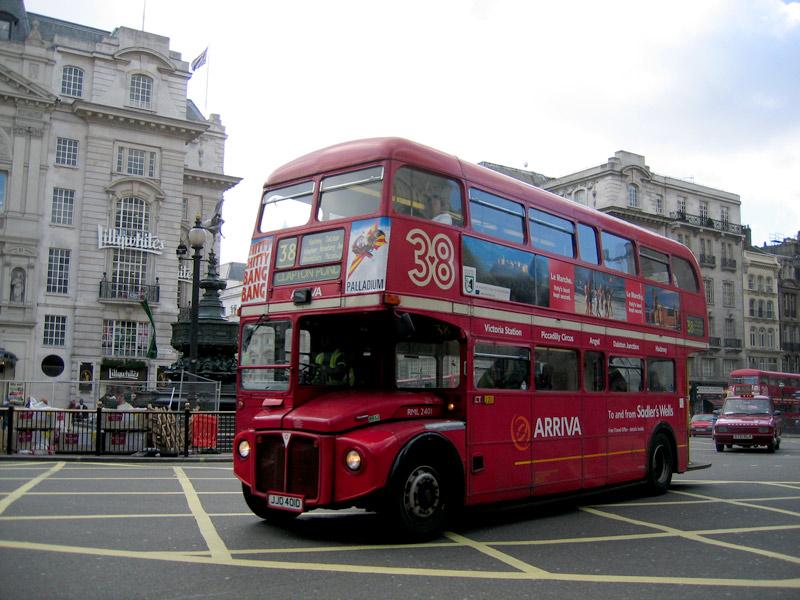 Conoce Londres en los famosos camiones de dos pisos