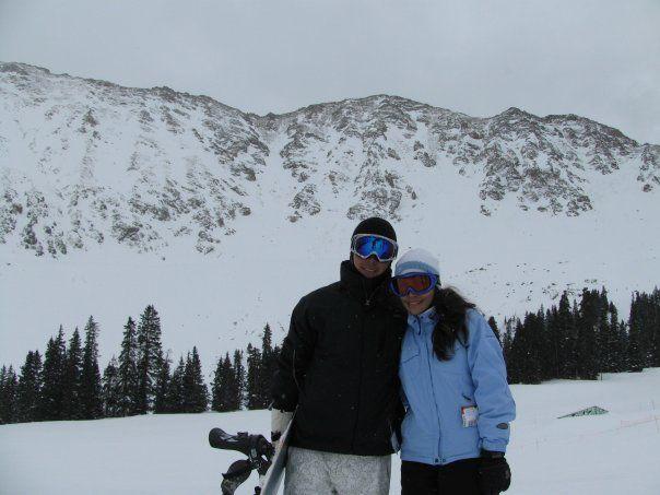 Esquiando en Keystone