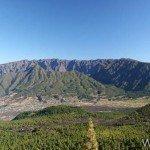 Caldera de taburiente desde la ruta de los volcanes