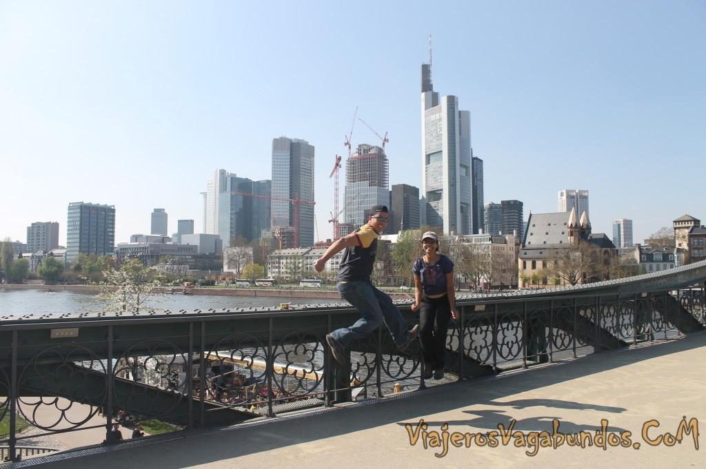 Brincando en Frankfurt