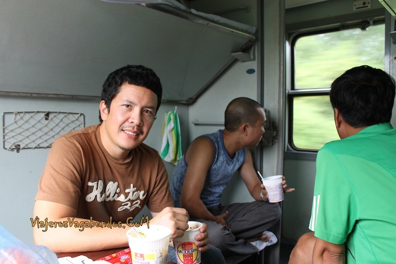 Viaje en tren en Vietnam