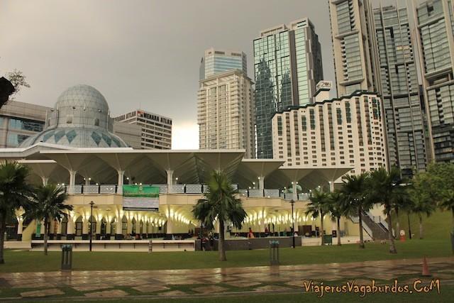 Mezquita en Kuala Lumpur