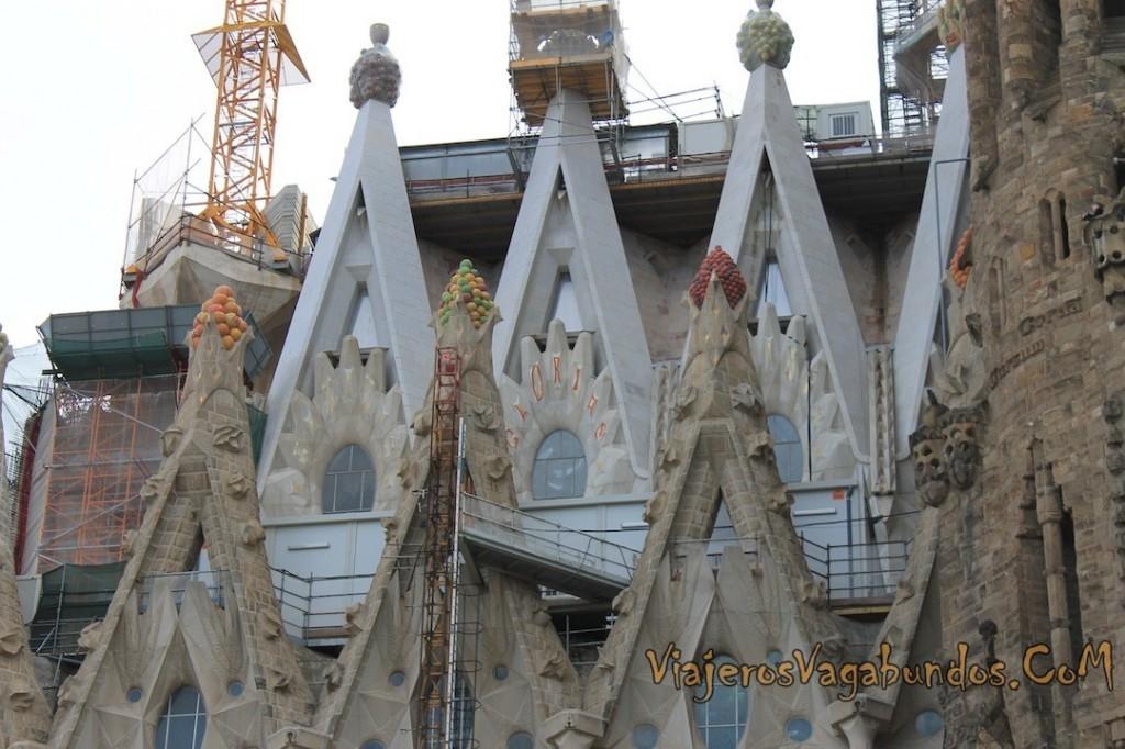 La Sagrada Familia sigue en construcción