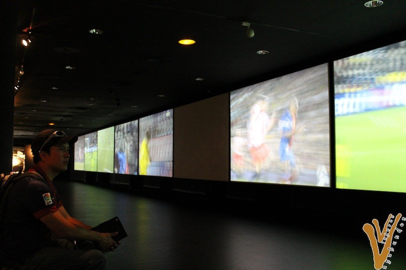 Sala Multimedia en el Camp Nou