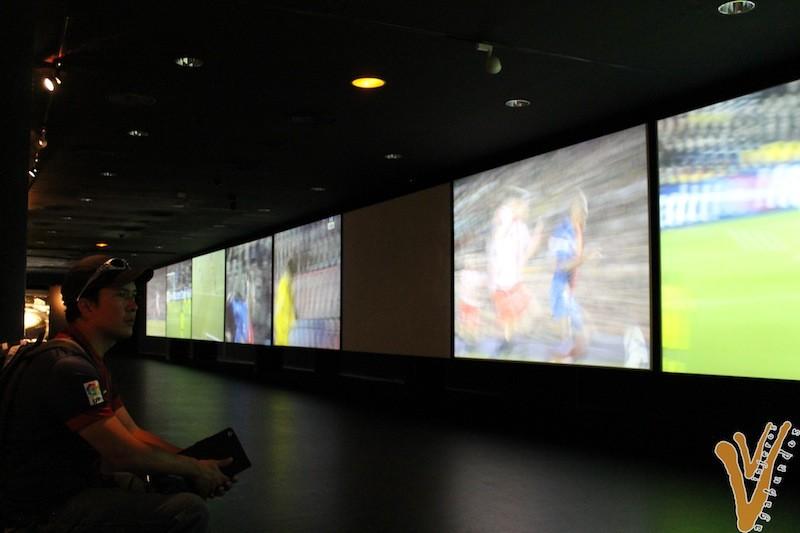 Sala Multimedia en el Camp Nou