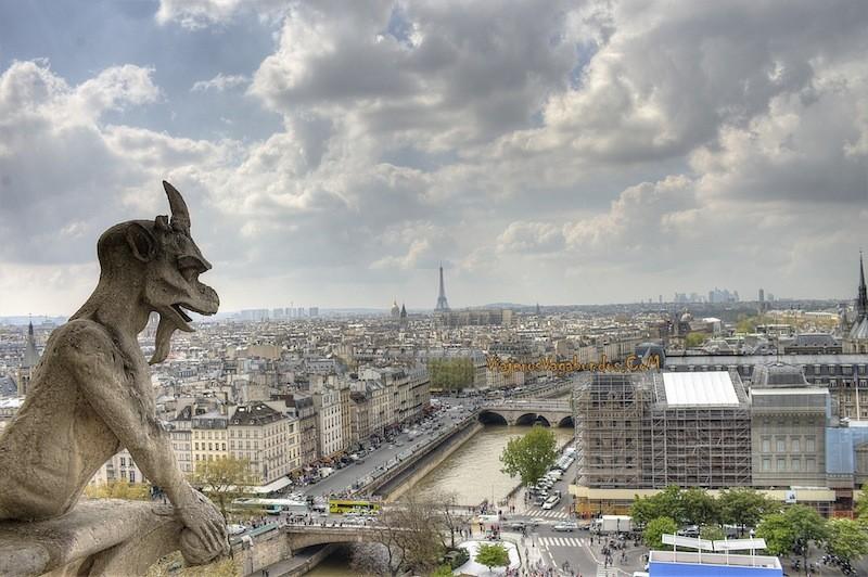 Vista de Paris desde Notre Dame