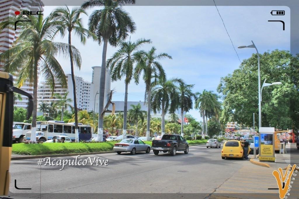 Avenida principal de Acapulco