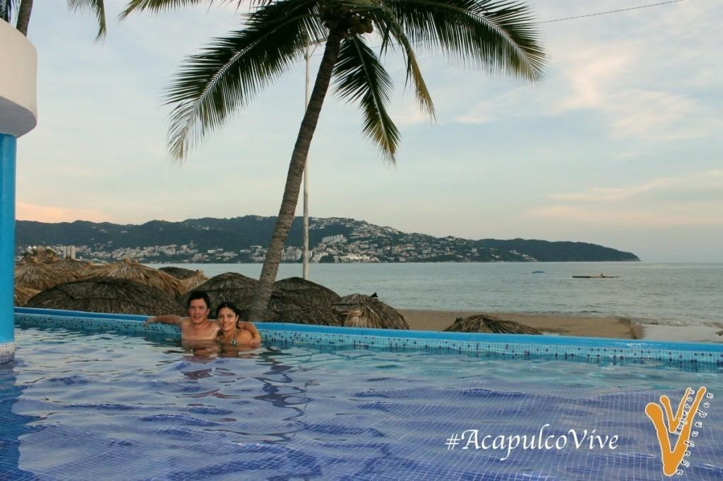 Alberca en Acapulco