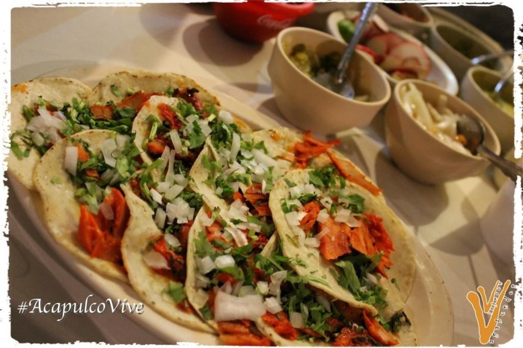Tacos al pastor en Guerrero