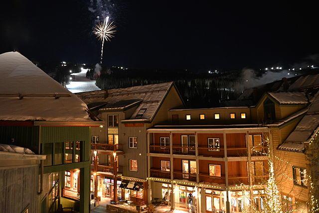 Esquiar en Keystone Colorado de noche