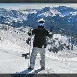 Snowboarding en Arapahoe Basin