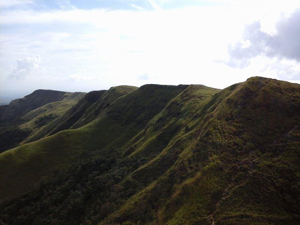 Montaña de la India Dormida en el Valle de Antón
