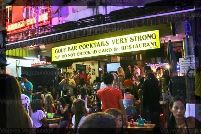 Bares en Khao San Road