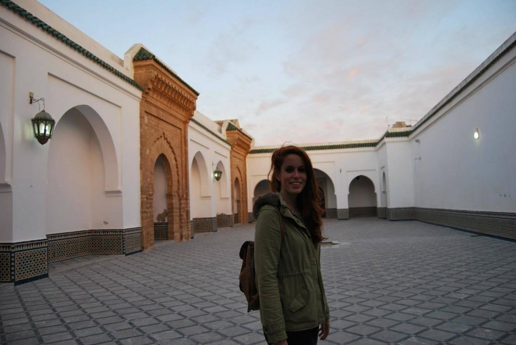 Carlota en Marruecos
