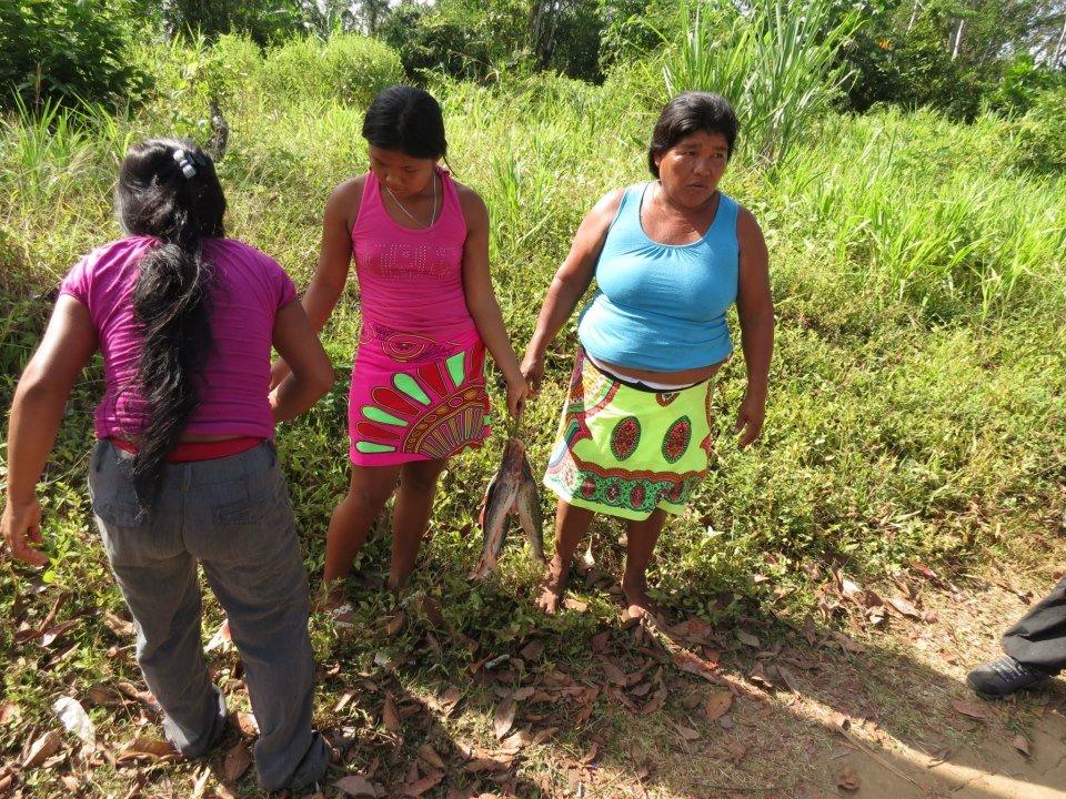 Mujeres indígenas panameñas