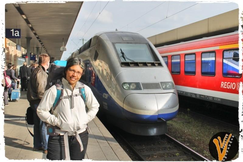 Tren a Paris