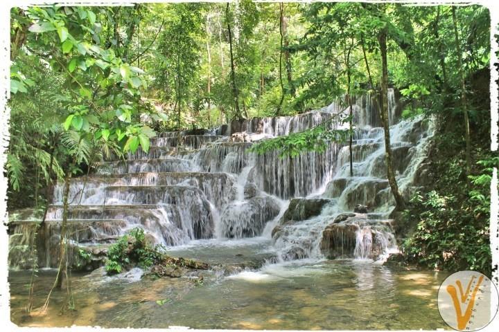 Cascada en Palenque