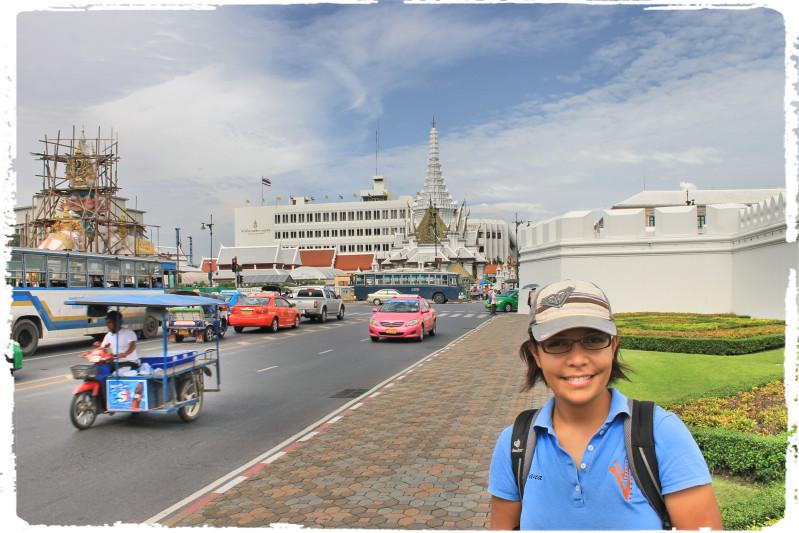 Diana calles de Bangkok