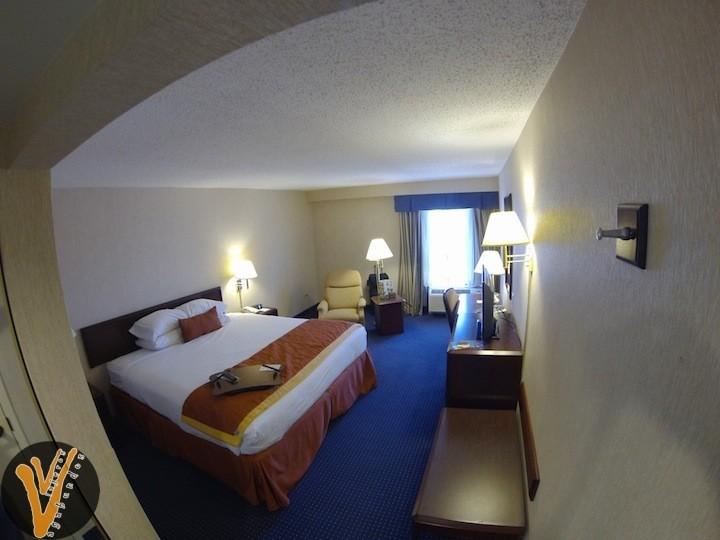 Cuarto del Hotel Wyndham Garden en Monterrey