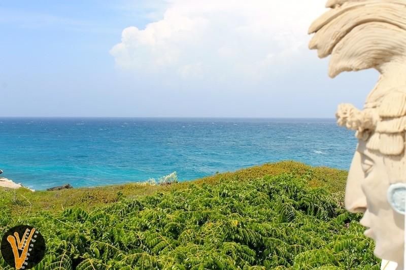 Cabeza Maya en Isla Mujeres