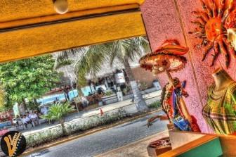 Calavera en una tienda de Isla Mujeres