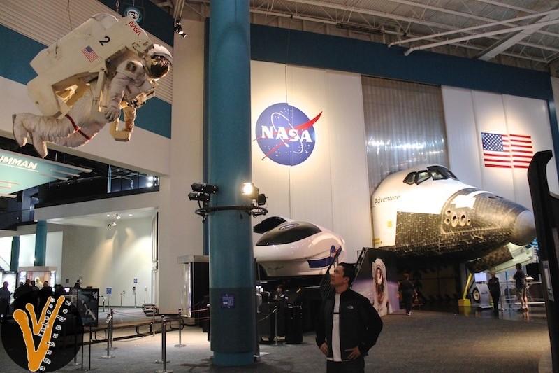 Lobby del Centro Espacial