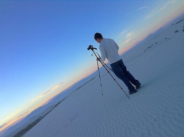 Tomando fotos con la Canon T3