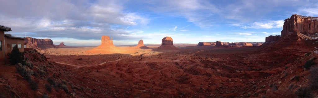 Panorámica Monument Valley