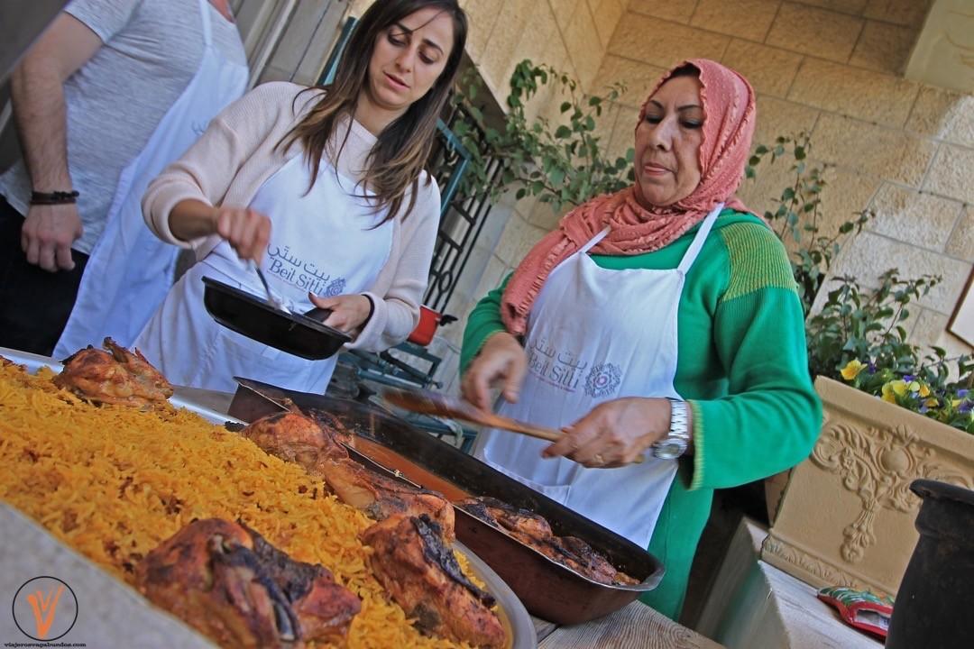 Nuestras chefs en Beit Sitti