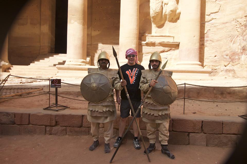 guardias petra