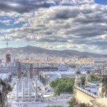 Vista de Barcelona desde MNAC copy