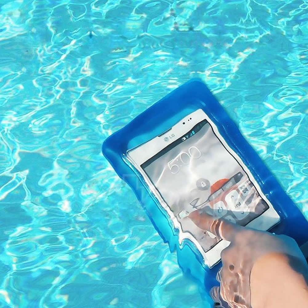 Funda para celular para sumergir al agua