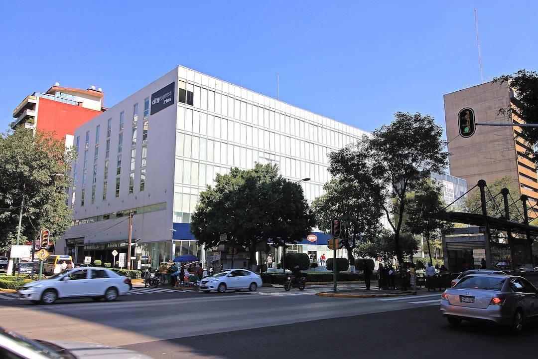 fachada hotel insurgentes sur
