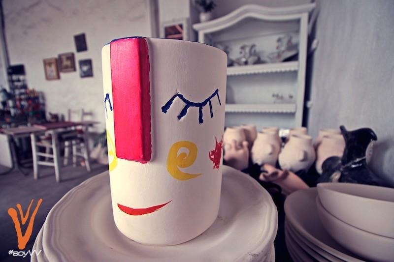 Pieza de ceramica