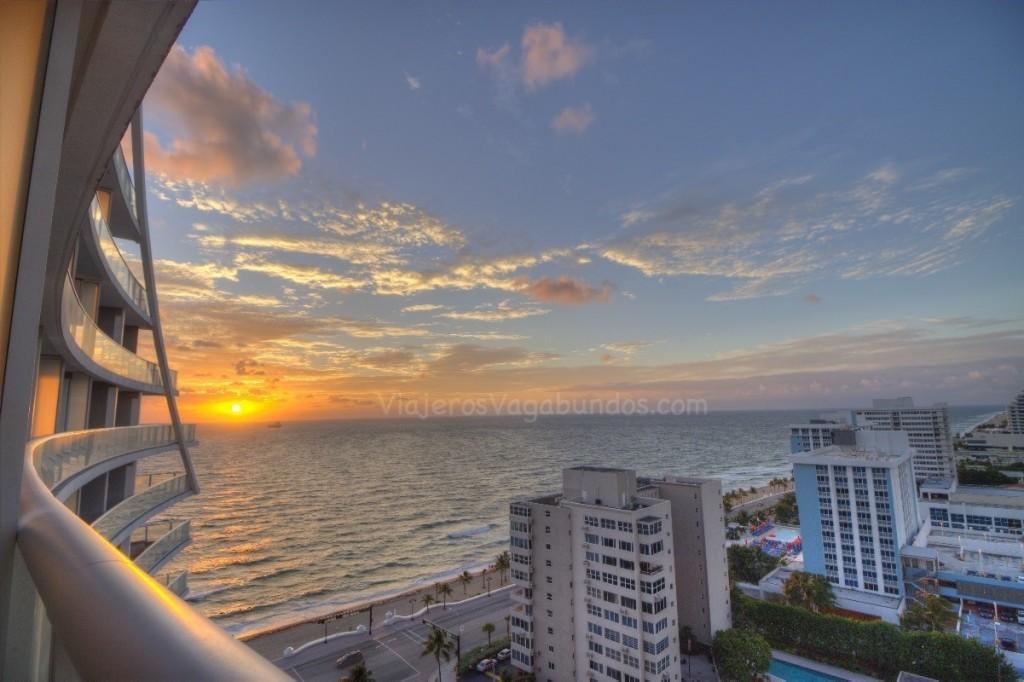 amanecer en Ft Lauderdale