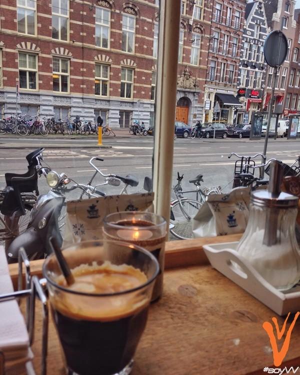 café en Amsterdam