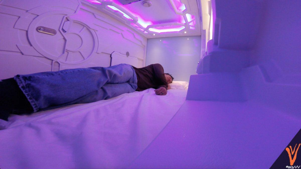 capsulas para dormir en aeropuerto cdmx