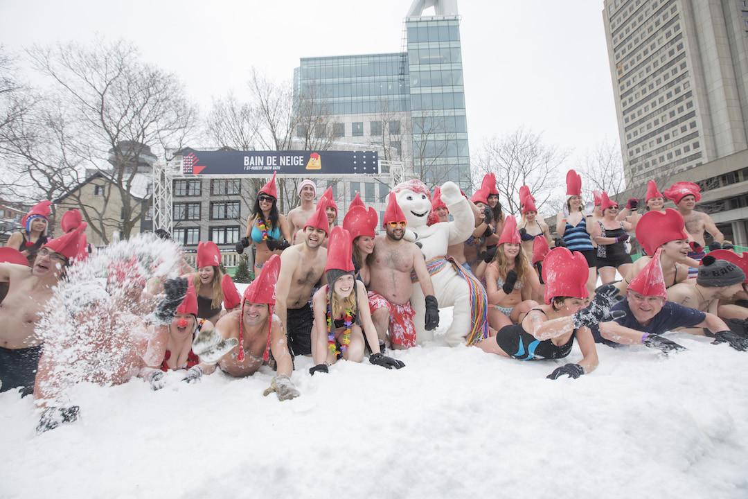 Carnaval de Invierno en Quebec, Canadá