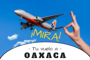 vuelos a Oaxaca
