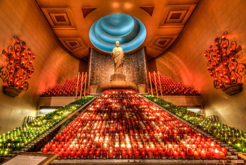 Interior del Oratorio San José