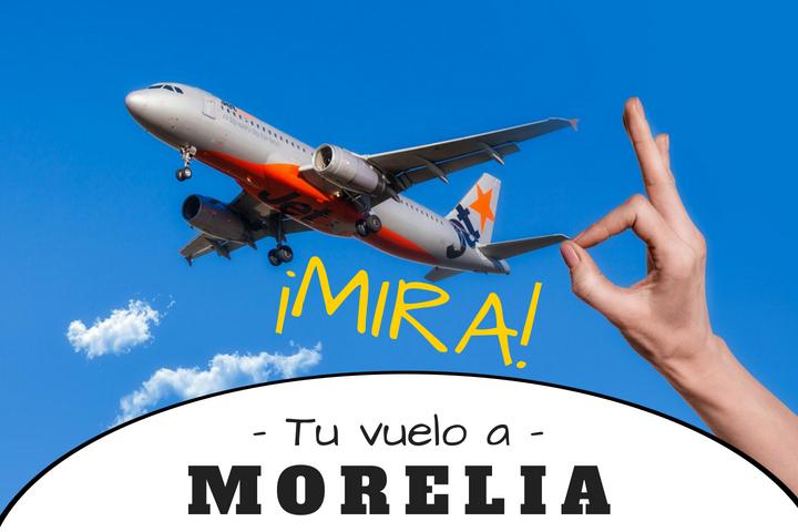 Vuelos a Morelia