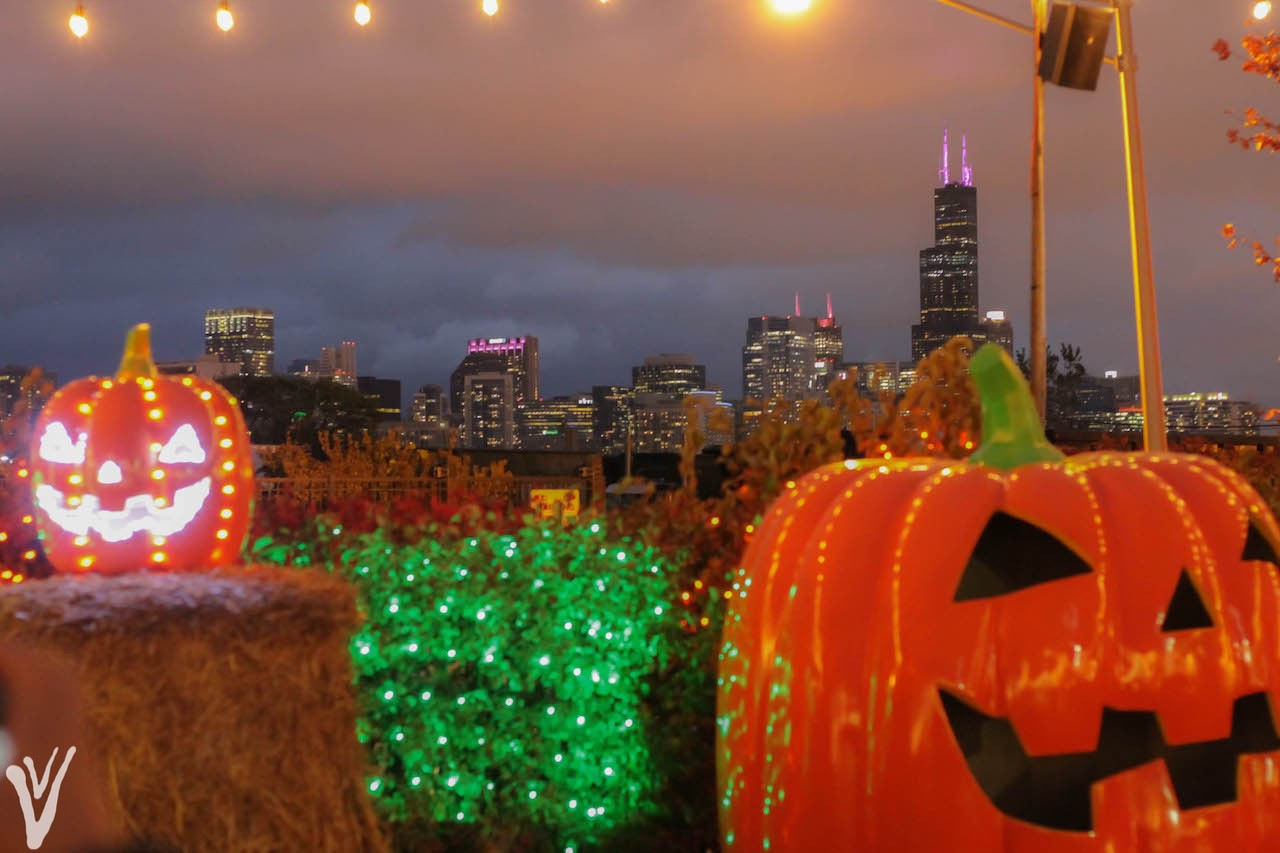 Halloween en Chicago