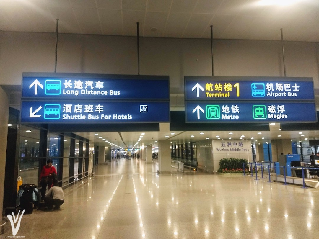 Cómo ir del aeropuerto de Shanghai al centro